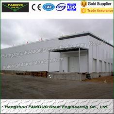China PU lamellierte Isoliersandwich-Platten-Farbthermische Stahllösungen fournisseur
