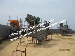 China Struktureller industrieller Stahlgebäude-Herstellungs-Bau für Behälter-Behälter-Industriekessel fournisseur