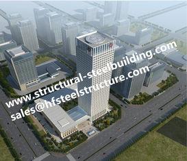 China Vorfabriziertes strukturelles mehrstöckiges Stahlgebäude für Wohnung in einem hohem Gebäudes-Blöcke fournisseur