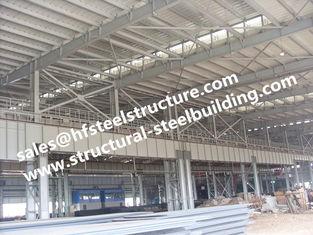 China Fabrizierter Baustahl-Vor-ausgeführter errichtender Werkstatt-Bau fournisseur