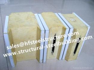 China Stahlgebäude-Kühlraum-Platte, ENV-/PU-Sandwichplatten für Kühlraum und Fertighaushaus fournisseur