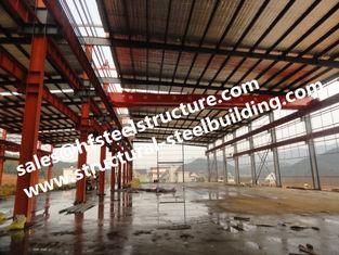 China Vorfabriziertes und Vor-ausgeführtes errichtendes industrielles Lager-Stahlgebäude fournisseur
