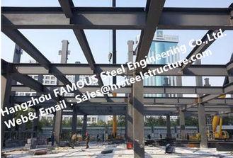 China Hohe Nachfrage des vorfabrizierten industriellen mehrstöckigen Stahlgebäudes für Wohnung fournisseur