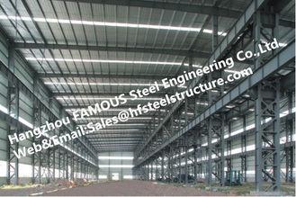 China Fabrizierte industrielle Stahlstahlgebäude mit galvanisierter Stahloberflächenbehandlung fournisseur