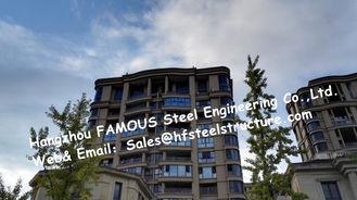 China Licht H - strahlen Sie, Stahlfertiggebäude mit fabriziertem Stahl/fabrizierte Stahlkonstruktion vor fournisseur