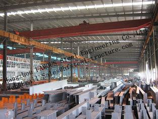 China Vorfabrizierte industrielle Stahlgebäude, einzelne Spannen-strukturelle Stahlgebäude für Lager fournisseur
