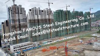 China Modulare vorfabriziertarchitektur-multi Geschoss-Stahlrahmen-Gebäude-Wohnungs-Projekt fournisseur