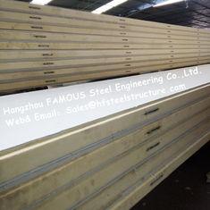 China Polystyren-Kühlraum täfelt Dichte 42kg mit Farbstahl-/-Edelstahl-Platte External fournisseur