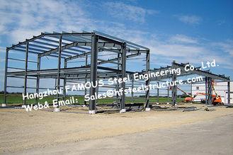 China Schwarze vorfabrizierte Stahlgebäude, Stahlbauten, die Standard Australiens Neuseeland aufbauen fournisseur