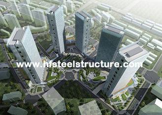 China Hartes und dauerhaftes, heißes Bad galvanisiert, industrielles wasserdichtes mehrstöckiges Stahlgebäude fournisseur