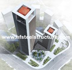 China Industrielles vorfabriziertes Stahlrahmen-Fertiggebäude, mehrstöckiges Stahlgebäude fournisseur
