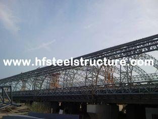 China Wasserdichte und Vor-ausgeführte vorfabrizierte Stahlbaustahl-Herstellungen fournisseur