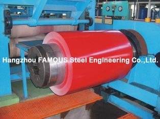 China Silikon geändertes Polyester SMP strich Stahlspule für Bau-Zink Al-Zn AZ vorgestrichene Stahlspule vor fournisseur