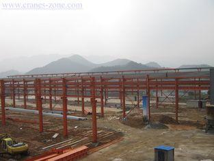 China Breite Spanne Vor-Technik industrieller Stahlgebäude-Rahmen, bewegliches Behälter-Haus fournisseur