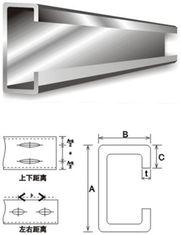 China Baumaterial galvanisierte Stahlpurlins fournisseur