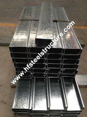 China Heiße eingetauchte galvanisierte Stahlpurlins fournisseur