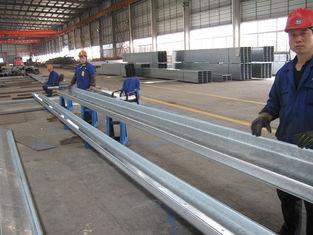 China Allgemein-verwendete c- und z-Abschnitt galvanisierte Stahlpurlins für Verlegenheits-Dach-und Seiten-Umhüllungen fournisseur