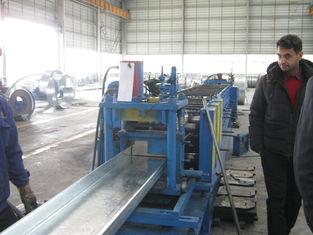 China Baustahl Bausätze galvanisierte Stahlpurlins für alle Größen fournisseur