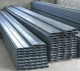China Baustahl-Bauelemente und Zusätze galvanisierte Stahlpurlins fournisseur