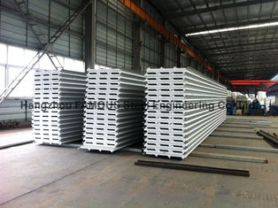 China ENV-/PU-Metalldeckung bedeckt Sandwich-Platten-Steinwolle für Wand für Dach fournisseur