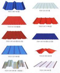 China Farbbedeckt überzogene Metalldeckung Customzied für Stahlkonstruktion fournisseur