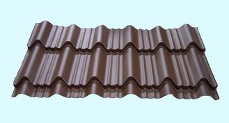 China Leichte Metalldeckung bedeckt die wasserdichte glasig-glänzende geformte Fliese fournisseur