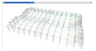 China Einleitende architektonische strukturelle konstruktive Gestaltungen mit Metallrahmen fournisseur