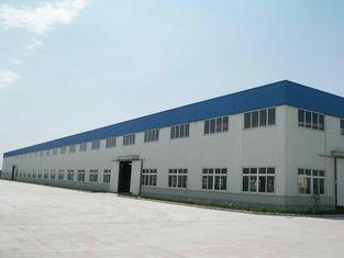 China Verstärken Sie Botls verbundene vorfabrizierte Baustahl-industrielle Werkstatt der großen Spannen-A325 fournisseur
