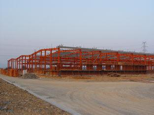 China Industrielle Vertrag abschließende Stahlbauten, vorfabrizierter Stahl-Gestaltungssysteme fournisseur