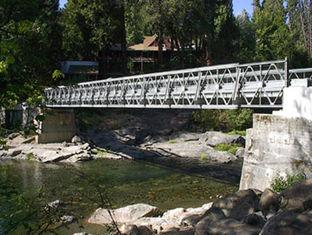 China Tragbare Bailey-Brücken-schwere Tragfähigkeit, starke Struktur-Starrheit fournisseur