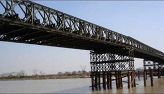 China Heißes Bad, das galvanisiert wird und, bremsend geschweißt ist und rollen, scherende strukturelle Bailey-Brücke fournisseur