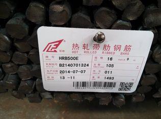 China Hochfester antiseismischer Verstärkungs-Stahl Rebar fournisseur
