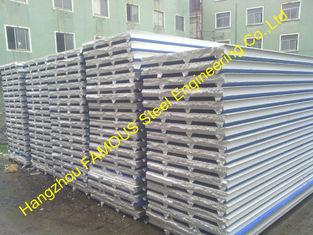 China Feuerfeste ENV-Sandwich-Platte für Stahlgebäude-Wand, Dach-Umhüllung fournisseur