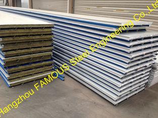 China Bau-PU Isoliersandwich-Platten-Polyurethan-Schaum-Stahl fournisseur