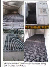 China Verstärkungs-Stahlstangen-geschweißte Stahlmasche fournisseur