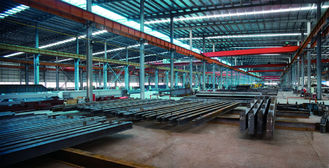 China Elektrische galvanisierte, malende Stahl-Gestaltungssysteme, Stahlbauten-Vertrag fournisseur
