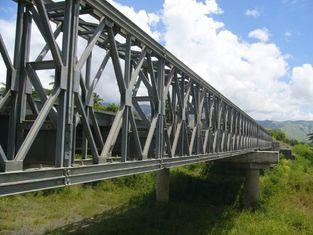 China Elektrische galvanisierte, malende und reibende vorfabrizierte Baustahl-Bailey-Brücke fournisseur