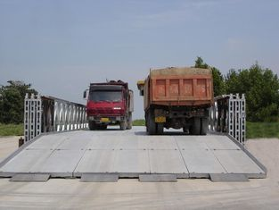 China Baustahl-Bailey-Brücke, modulare Stahlbrücke, tragbare vorfabrizierte Fachwerkbrücke fournisseur
