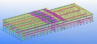 China Vor-ausgeführte vorfabrizierte kommerzielle strukturelle Stahlkonstruktive Gestaltungen fournisseur