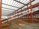 China Hochfeste vorfabrizierte industrielle Stahlgebäude für Lager-Werkstatt usine