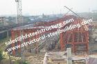 China Grad-industrielle Stahlgebäude Q235 Q345, errichtende Stahlstandort-Fertigstahlgebäude usine