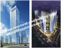 China Q345B-mehrstöckige Stahlfertiggebäude für Wohnhotel und Büro fabrizierten Auftragnehmer usine