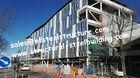 Hohes Aufstiegs-Gebäude und mehrstöckiges Stahlgebäude für Wohnwohnungen