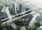 Niedriges Medium und hohes mehrstöckiges Stahlgebäude Hise/Stahlfertiggebäude
