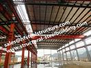 Konkretes Stahl-Mischgebäude-strukturelle Stahlbaugebäude richteten schnell vorfabriziertes Gebäude auf