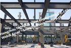 China Hohe Nachfrage des vorfabrizierten industriellen mehrstöckigen Stahlgebäudes für Wohnung usine