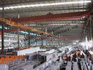 Vorfabrizierte industrielle Stahlgebäude, einzelne Spannen-strukturelle Stahlgebäude für Lager
