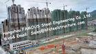 Modulare vorfabriziertarchitektur-multi Geschoss-Stahlrahmen-Gebäude-Wohnungs-Projekt
