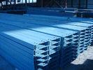 China Galvanisiertes Stahl-Purlinss und Girts für Industriebauten, Garagen, Veranden usine