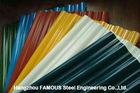 China Galvalume galvanisiertes Metalldeckungs-Blätter vorgestrichenes gewölbtes Platten-Blatt usine
